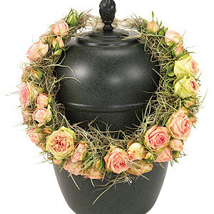 Rose Urn Wreath